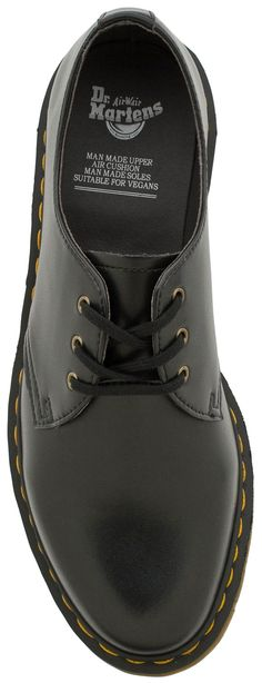 Simple, well made vegan shoe - Dr. Martens Vegan 1461 3 Eye Gibson from www.planetshoes.com