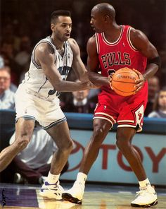Dell Curry Couldn't Check Him, '92.