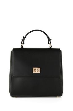 0c430517134 'Bespoke' | Calfskin Bag, Detachable Strap Black Leather Handbags, Hugo Boss ,