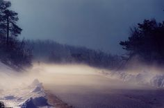 #fog #shotonfilm #blueridgeparkway #virginia #winter #snow