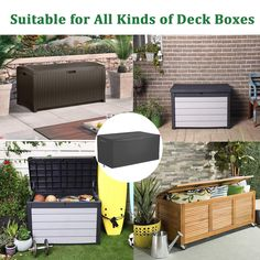 (This is an affiliate pin) Waterproof Outdoor Storge Box Protector**Click on the image for additional details. #OutdoorStorage Coffee Table Cover, Table Covers, Deck Box, Outdoor Cushions, Covered Boxes, Outdoor Furniture, Outdoor Decor, Outdoor Storage, Storage Solutions