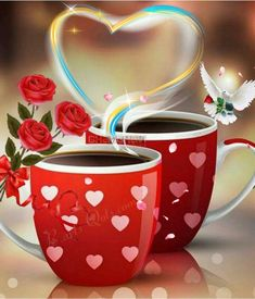 Enjoy the weekend, Daizo💗🍵 Funny Good Morning Images, Good Morning Images Flowers, Good Morning Messages, Morning Qoutes, Good Morning Inspirational Quotes, Coffee Heart, Beautiful Rose Flowers, Flower Quotes, Happy Weekend