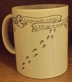 Marauders Map Harry Potter Mug - I solemnly swear i am up…