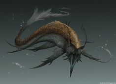 Creature Spot - The Spot for Creature Art, Artists and Fans - sea creature dude