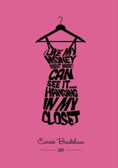Carrie Bradshaw. rebeccaminkoff.com