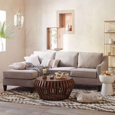 Paidge Collection & Velvet Sofa | West Elm