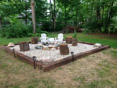 Outdoor Fire Pit Ideas Backyards