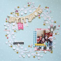 Cari Lup: Scrapbook: Snow and Cocoa                                                                                                                                                                                 More