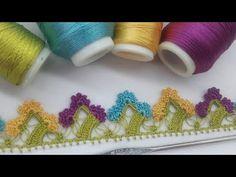 Crochet Flower Tutorial, Crochet Flowers, Love Crochet, Crochet Lace, Nail Polish Storage, Nail Polish Colors, Popular Pins, Handicraft, Needlework
