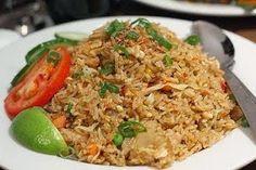 How To Make Nasi Goreng Kampung Cara Membuat Nasi Goreng Kampung Nasi Goreng Kampung, Nasi Lemak, Nasi Bakar, Java Rice Recipe, Recipe Recipe, Menu Recipe, Asian Recipes, Healthy Recipes, Ethnic Recipes