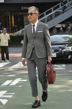 MItyp: on the street .. Harajuku - Thom Browne Style -
