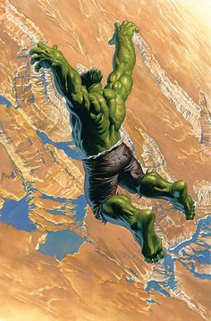 Hulk by Alex Ross Marvel Comics Superheroes, Bd Comics, Hulk Marvel, Marvel Art, Marvel Heroes, Ms Marvel, Captain Marvel, Hulk Hulk, Red Hulk