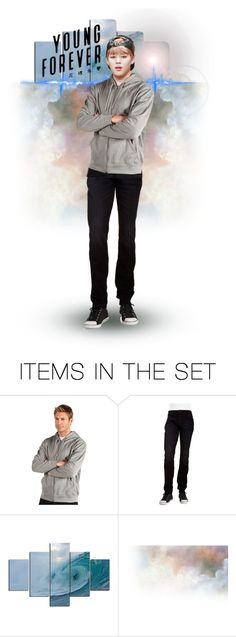 """""""Young Forever / BTS / Jimin"""" by tokyotrekker ❤ liked on Polyvore featuring art, foreveryoung, bts and jimin"""