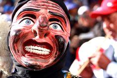 Mascara en Paucartambo