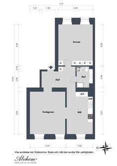 Plano. Piso decoración acogedora y funcional 80 m2