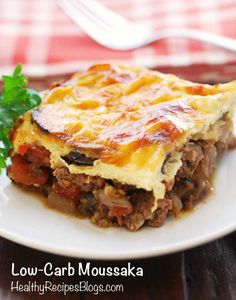 Moussaka Recipe - If I can find ground lamb that doesn't cost a fortune this would be cool to try