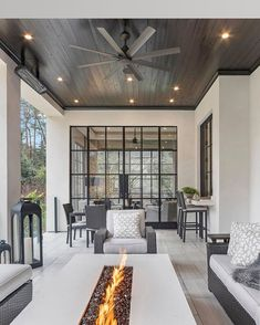 Houzz is the new way to design your home. Browse 20 million interior design photos, home decor, decorating ideas and home professionals online. Dream Home Design, My Dream Home, Home Interior Design, Exterior Design, Home Styles Exterior, Interior Livingroom, Modern Exterior, Interior Ideas, Dream House Exterior
