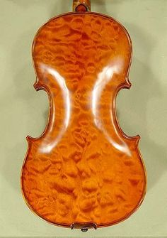 Gliga Violin Shop in Vancouver: 4/4 MAESTRO VASILE GLIGA Quilted Maple One Piece Back Violin - Code A9676V - $5,170 - http://www.violinslover.ca/products/4%7B47%7D4-MAESTRO-VASILE-GLIGA-Quilted-Maple-One-Piece-Back-Violin-%252d-Code-A9676V.html