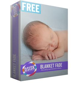 Blanket Fade Photoshop and Elements Action — FREE | DSP Shop