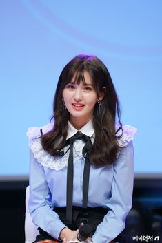at sudden attack Cute Girl Pic, Cute Girls, Asian Celebrities, Celebs, Jeon Somi, Bow Blouse, Gilmore Girls, Girl Face, Simply Beautiful