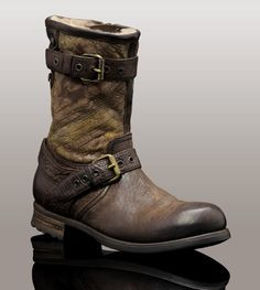 Belstaff motorcycle boots. I think I've finally found what I've ...