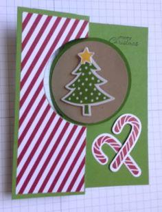 Circle Card - Merry Christmas