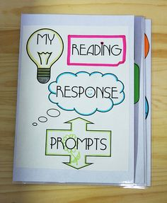 Reading response prompt journals are an excellent tool to incorporate into writing lessons.