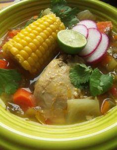 Caldo de Pollo (Chicken and Vegetable Soup)
