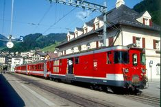 Swiss Railways, Bahn, Coaches, Trains, Rolling Stock, Photo Illustration, Paint Line, Memories, Trainers