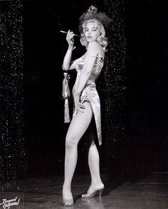 50's Las Vegas Showgirl Maureen Day By Bernard Of Hollywood