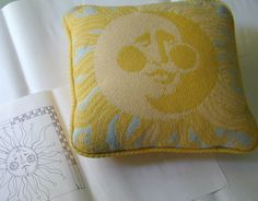 Curtis Boehringer Designs: HERE COMES THE SUN...needlepoint