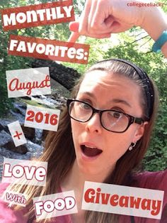 Monthly Favorites: August 2016 + Love with Food Giveaway