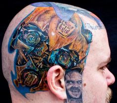 wtf 'The Shining?'   Tattoo artist Cecil Porter   Special Tattoos