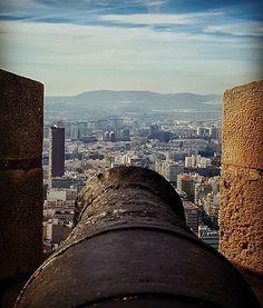 #nowar .... . . . #throwback #alicante #santabarbara #bomb #cannon #castle #instaview #spain #instatravel #travelgram #instaeurope #makelovenotwar #festung #burg #costablanca #fortress #fortaleza #guerra #canoneos #ver #picoftheday #likeforlike #landscape #europetrip #skyline #south #photography #picture