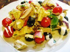 "Kylling""salat"" Norwegian Food, Chicken, Meat, Blogging, Cubs"