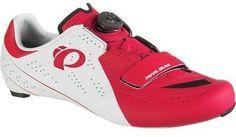 Pearl Izumi ELITE Road V5 Cycling Shoe - Men's White/True Red 43.5