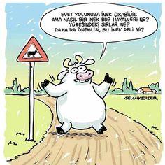 Bence inek deli ������ #karikatur #mood #moodoftheday #karikatur_gezegenii #komik #crazycow  #gününkaresi #insta #instagood #gülümse #smiles #karikaturdunyasi #mizah #instaturkiye http://turkrazzi.com/ipost/1517396650561430911/?code=BUO4DbUFOV_
