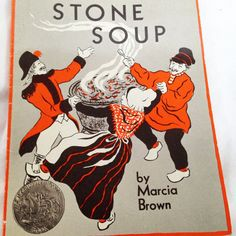 Stone Soup An Old Tale  Vintage Kid's  Book by RetroVintageHeart