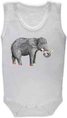 Sanatçı fil Kendin Tasarla - Bebek Zıbın