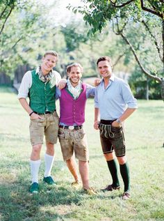 Young men wearing Tracht traditional Austrian Clothing #style #gentlemen #mensfashion