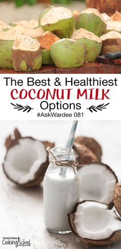 Yummy Smoothie Recipes, Thm Recipes, Dessert Recipes, Breakfast Recipes, Coconut Milk Benefits, Health Meal Plan, Milk Brands, Low Carb Lunch, Drinks Alcohol Recipes