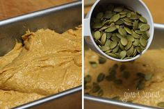 Pumpkin bread. 2 pt for 10 slices. SUGAR: 1/4 cup UNpacked brown sugar, 1/4 cup stevia. Applesauce for oil.