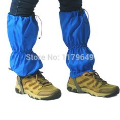 Snow leg gaiters for adults winter outdoor sports such as hiking walking skiing leg gaiters