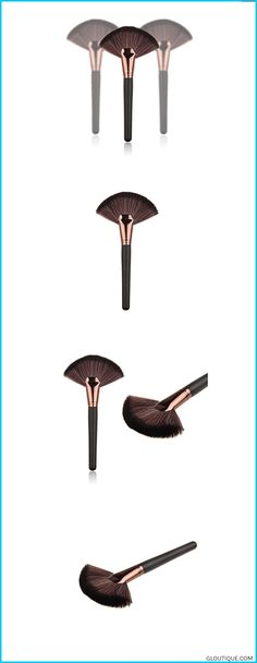 "The makeup brush set is easy to carry and use. Hair Material: Imported Nylon. Handle Material:Wood. Length:21CM/8.26""(APPROX.) Width:11CM/4.33""(APPROX#makeup #makeuplover #makeuptools #beauty #lipstick #fashion Lookatool Makeup Large Fan Goat Hair Blush Face Powder Foundation Cosmetic Brush #Lookatool #Makeup #Large #Fan #Goat #Hair #Blush #Face #Powder #Foundation #Cosmetic #Brush #Reviews"