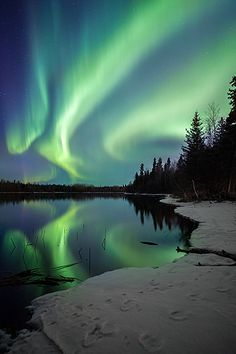 Snap It Grand Prize Winner 2012 - Corey Hardcastle's picture of the northern lights near Montreal River, #Saskatchewan