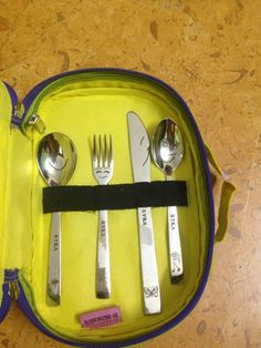 Personalised cutlery sets