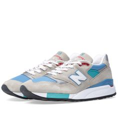 New Balance M998CSB - Made in the USA (Grey, Blue & Teal)