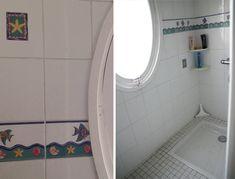 Du béton ciré pour la rénovation de notre salle de bain ! - Barnabé aime le café France, Mirror, Bathroom, Furniture, Home Decor, Master Bathroom Vanity, Washroom, Decoration Home, Room Decor