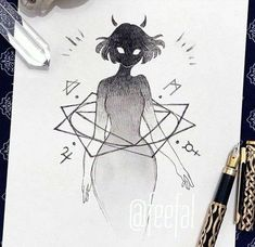 Artists to Observe this Inktober for Inspiration & Concepts — JeyRam : Anime Drawings & Sketches Creepy Drawings, Dark Art Drawings, Anime Drawings Sketches, Creepy Art, Cool Drawings, Cool Sketches, Anime Sketch, Tattoo Sketches, Tattoo Drawings