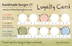 14 Best Loyalty Stamp Card Images